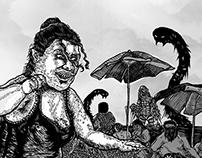 Serie Bitácora de Verano I (del verano sus criaturas)