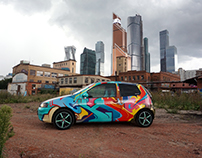 GRAFFITI ON THE CAR | 2016