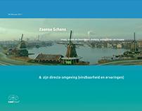 Route to Zaanse Schans