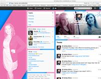 My Twitter Design