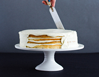 Step-by-step layer cake