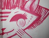 'Nymph' Mural
