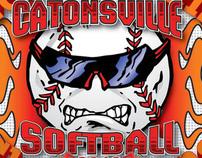 Catonsville Softball Tee's 2010