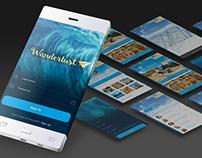 Wanderlust Mobile Site