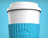Reusable ToGo Coffee Cup