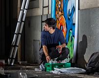 MadSplitDesign & Mini Eco Bar Street Art Graffiti