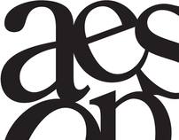 Aesop's Fables Typographic Illustration
