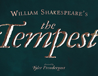 Audition Poster for William Shakespeare's THE TEMPEST