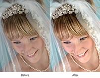 Bridal Portrait Retouching