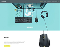 Mionix Web Redesign