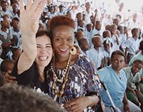 Paola Turci e Paolo Fresu in Haiti