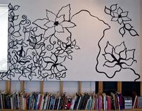 Art Department Wall installation
