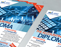 Accounting Diploma Flyer A5