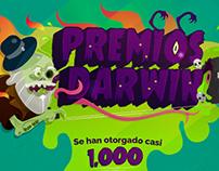 PREMIOS DARWIN (infografía)