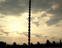 Time Lapse coloana infinitului