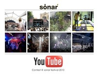 SÓNAR FESTIVAL & YOUTUBE