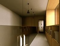 Lakóépület belső terei