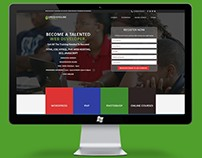 Website for Greenmouse Academy