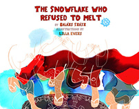Snowflake - Children book illustration