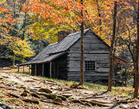Bud Ogle Cabin - Great Smoky Mountains