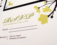 Eco Wedding Invite