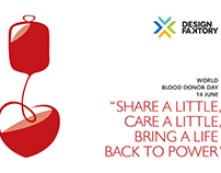 #DonateBlood #WorldBloodDonorDay