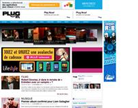 Plug RTL - Website