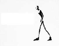 Giacometti lettering