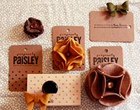 Purposely Paisley Merchandising/Business Cards