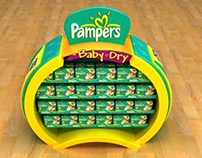 PAMPERS STAND
