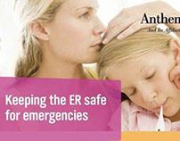 ER Alternatives brochure for Anthem Blue Cross