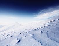 snow desert