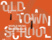 Old Town School of Folk Music Poster