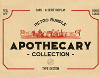 The Apothecary Font Collection (+ FREE FONT)
