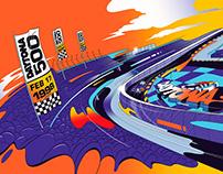 Daytona 500 Commercial