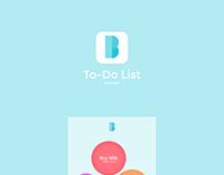 To-Do List UI Concept