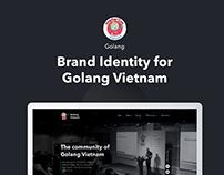 Brand Identity for Golang Vietnam