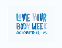Love Your Body Week | Poster & Logo
