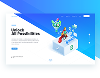 Collaborative Landing page