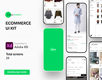 Cuccu Ecommerce UI KIT for ADOBE XD