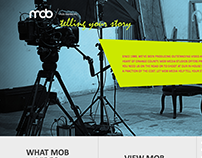 Mob Media Video Landing Page