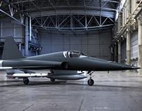 """3D - Northrop F5 (Top Gun """"The Mig"""")"""
