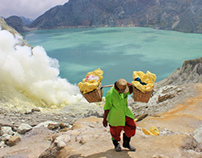 Indonesia - Following the sulfur carriers @ Kawah Ijen