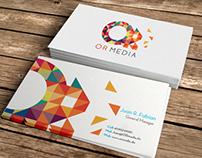 OR media  |   Identidad Corporativa