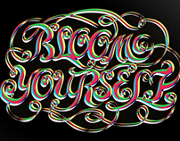 Typography-Bloom yourself