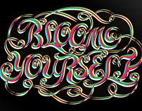 Typography-Bloom yourself