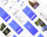 Moon heart - Mobile app social images sharing