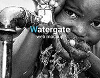 Watergate web template with dynamic footer