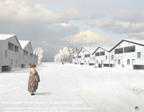 DOMXXI_reconstruction of russian village