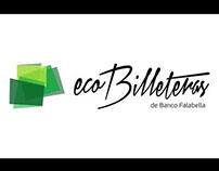 Ecobilleteras de Banco Falabella